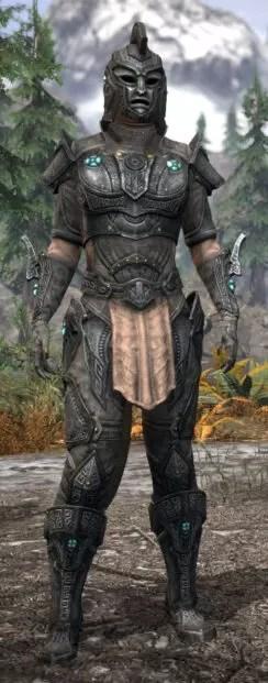 Arkthzand Armory Rawhide - Khajiit Female Front