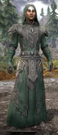 Greymoor Homespun - Male Robe Front