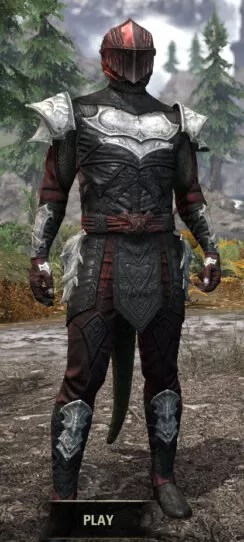 Nighthollow Light - Argonian Male Shirt Front