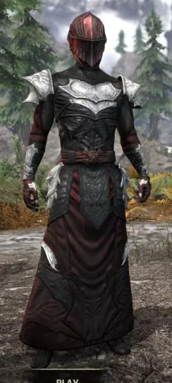 Nighthollow Light - Male Robe Front