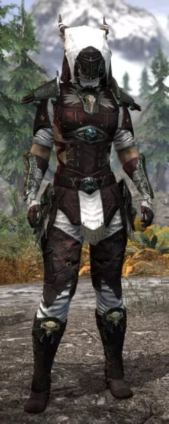 Wayward Guardian Medium - Khajiit Female Front