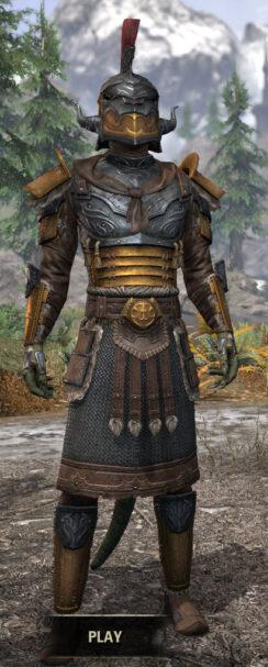 Akaviri Potentate - Argonian Male Front