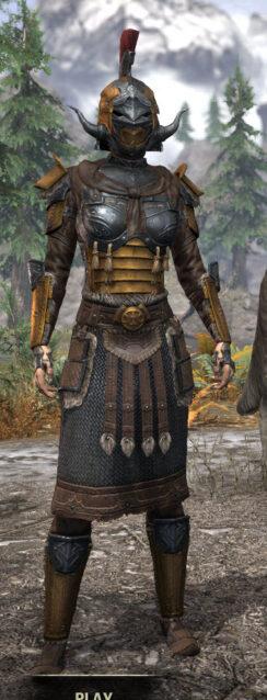 Akaviri Potentate - Female Front