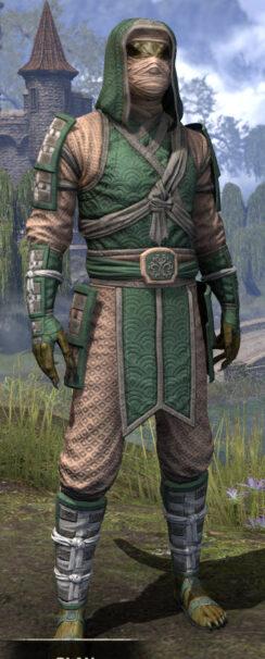 Ancestral Akaviri - Argonian Male Shirt Front
