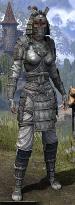 Ancestral Akaviri Iron - Female Front
