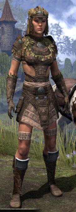 Black Fin Legion Rawhide - Female Front