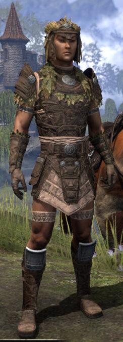 Black Fin Legion Rawhide - Male Front