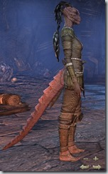 Argonian Dragonknight Novice - Female Right