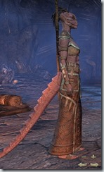 Argonian Sorcerer Novice - Female Right