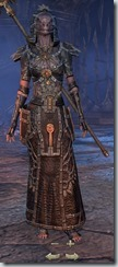 Argonian Sorcerer Veteran - Female Front