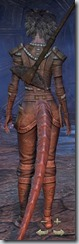 Argonian Templar Novice - Female Back