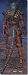 Argonian Templar Novice - Male Back