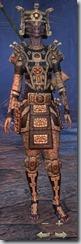 Argonian Templar Veteran - Female Front