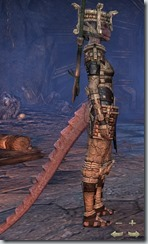Argonian Templar Veteran - Female Right