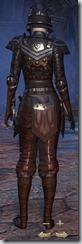 Breton Nightblade Veteran - Female Back
