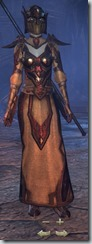 Dark Elf Sorcerer Veteran - Female Front