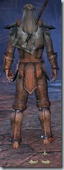 Dark Elf Templar Novice - Male Back