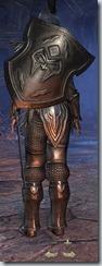 Orc Dragonknight Veteran - Female Back