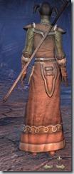 Orc Sorcerer Novice - Female Back