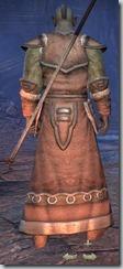 Orc Sorcerer Novice - Male Back