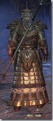 Orc Sorcerer Veteran - Male Back