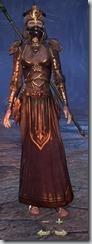 Redguard Sorcerer Veteran - Female Front