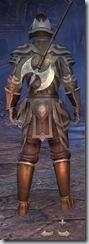 Redguard Templar Veteran - Male Back