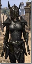 Altmer Ebon - Female 50 Epic Close Front