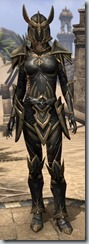 Altmer Ebon - Female 50 Superior Front
