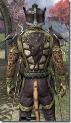 Primal Leather - Male 28 Normal Close Back