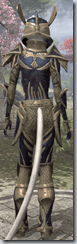 Altmer Voidsteel - Female VR10 Superior Back