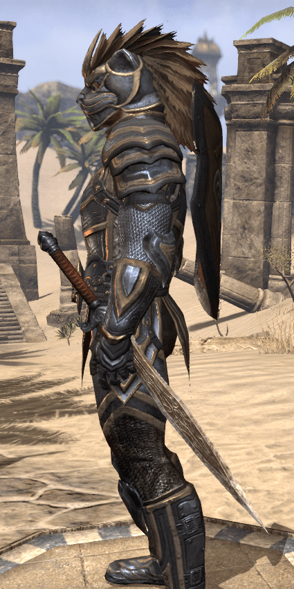 ESO Fashion  Sir Rhorlak of Baskpeak  NA Elder Scrolls