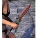 Imperial Rubedite Dagger