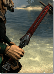 Trinima Rubedite Dagger