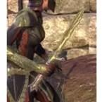 Glass Galatite Dagger