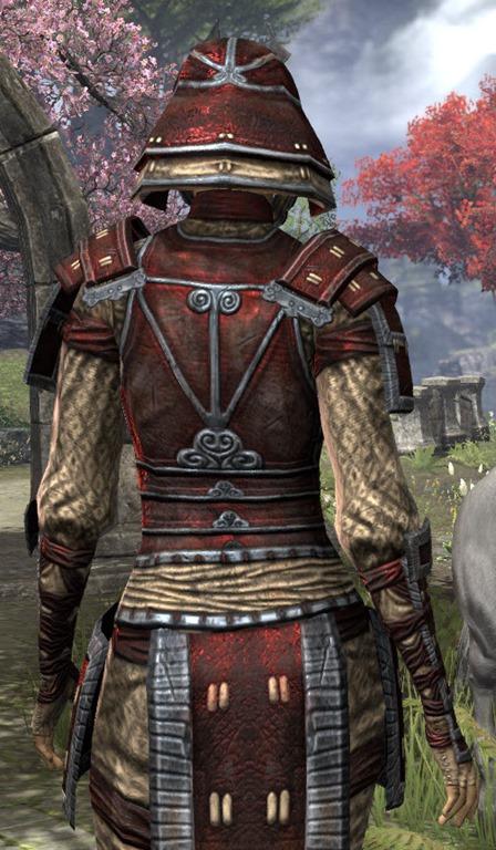 Eso Fashion Akaviri Rubedo Leather Elder Scrolls Online