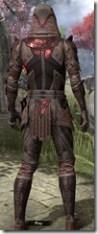 Assassin's League Rubedite - Male Back