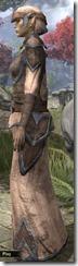 Dunmer Homespun Robe - Female Side