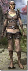 Dunmer Homespun Shirt - Female Front