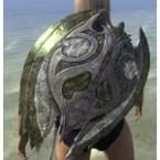 Glass Maple Shield