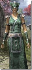 Khajiit Homespun Robe - Female Close Front