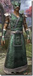 Khajiit Homespun Robe - Male Front