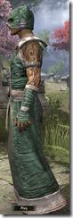 Khajiit Homespun Robe - Male Side