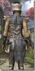 Khajiit Iron - Female Close Back