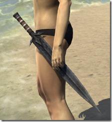 Outlaw Iron Sword