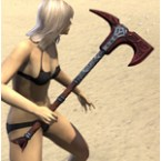 Thieves Guild Rubedite Axe