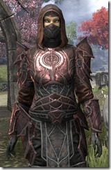 Thieves Guild Rubedite - Female Close Front