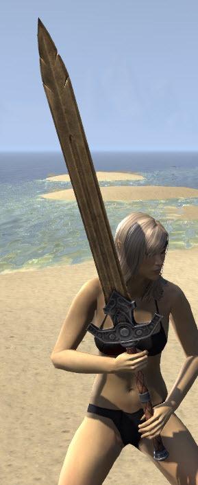 Eso Fashion Breton Dwarven Greatsword Elder Scrolls Online