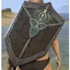 Breton Mahogany Shield
