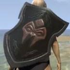 Orc Mahogany Shield
